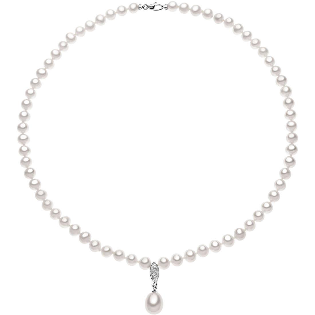 collana donna gioielli Comete Perla FWQ 128