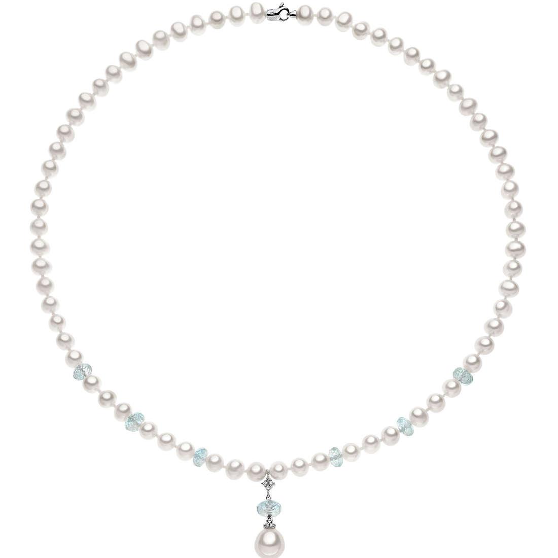 collana donna gioielli Comete Perla FWQ 129