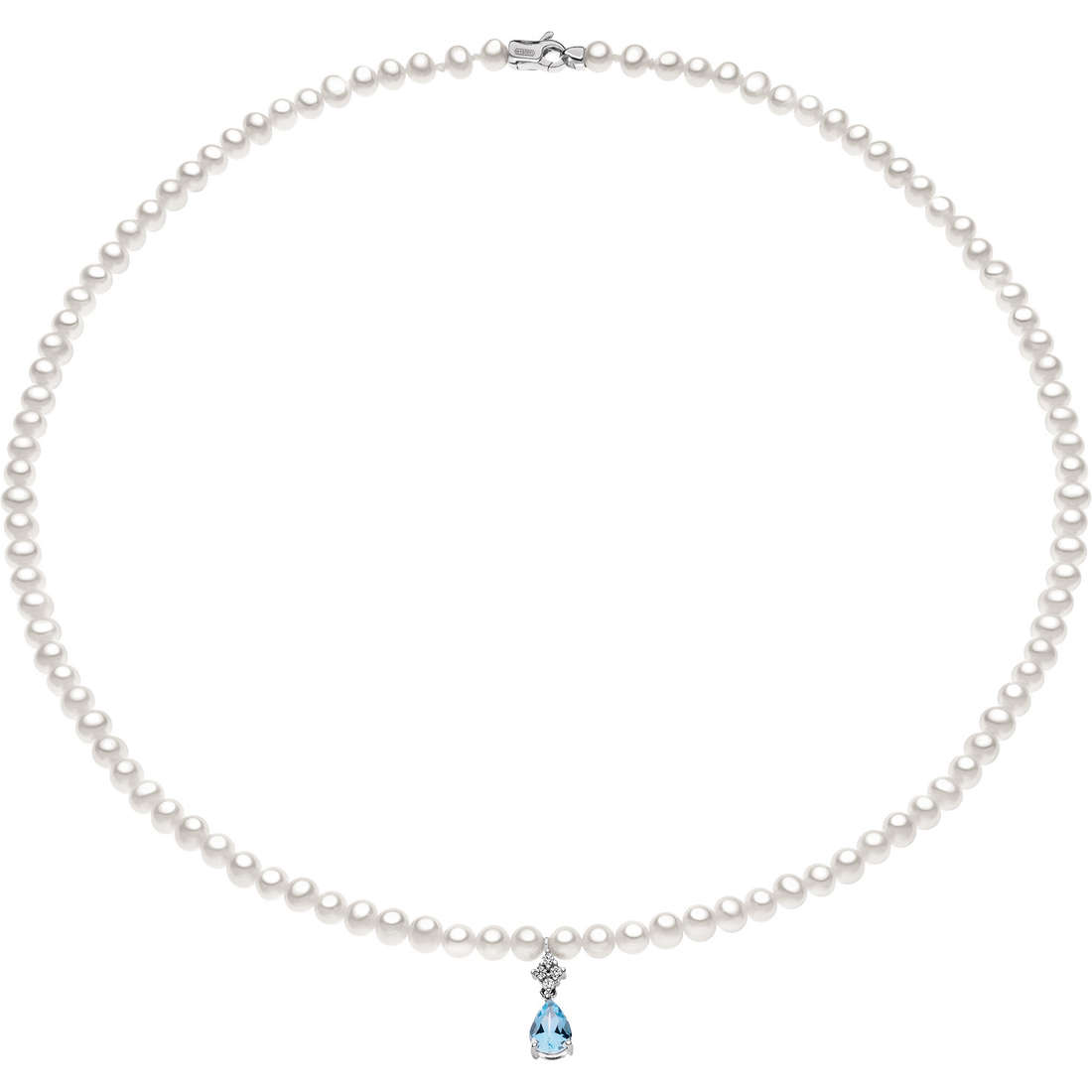 collana donna gioielli Comete Perla FWQ 132