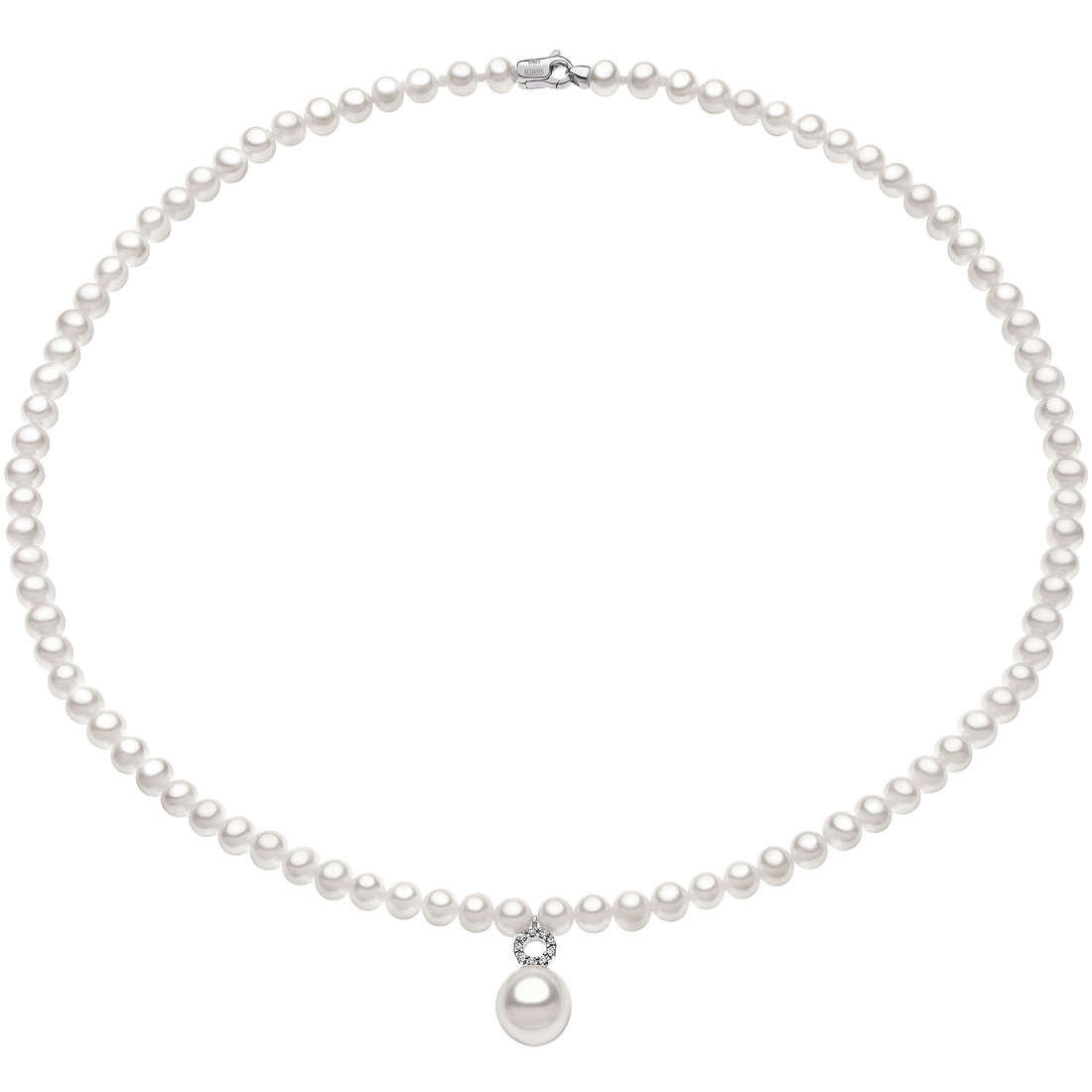 collana donna gioielli Comete Perla FWQ 133
