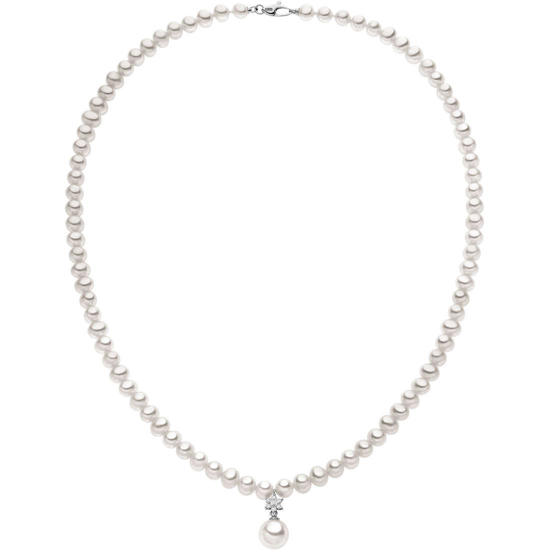 collana donna gioielli Comete Perla FWQ 134
