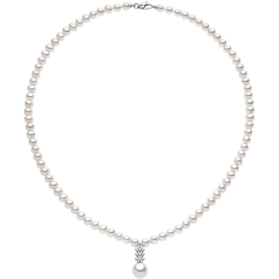 collana donna gioielli Comete Perla FWQ 135