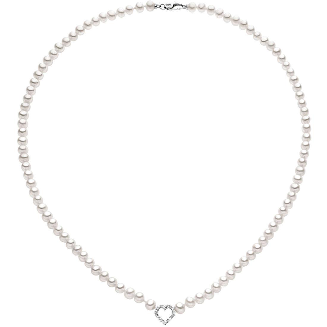 collana donna gioielli Comete Perla FWQ 136
