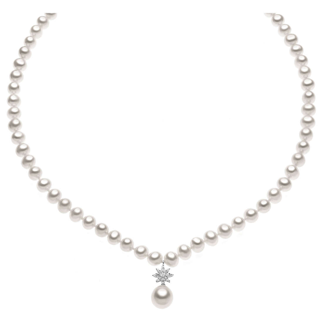 collana donna gioielli Comete Perla FWQ 137