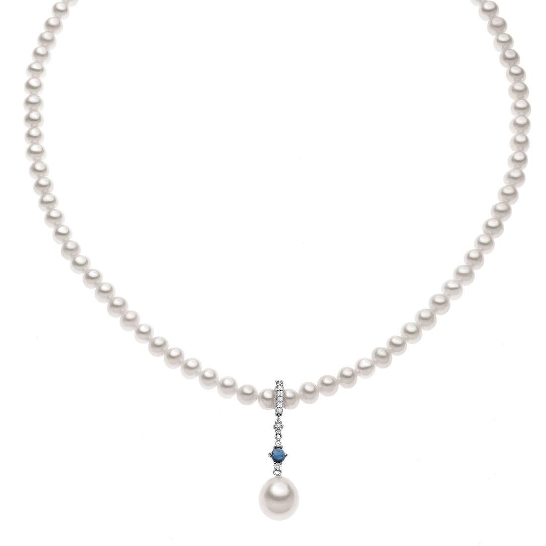 collana donna gioielli Comete Perla FWQ 138