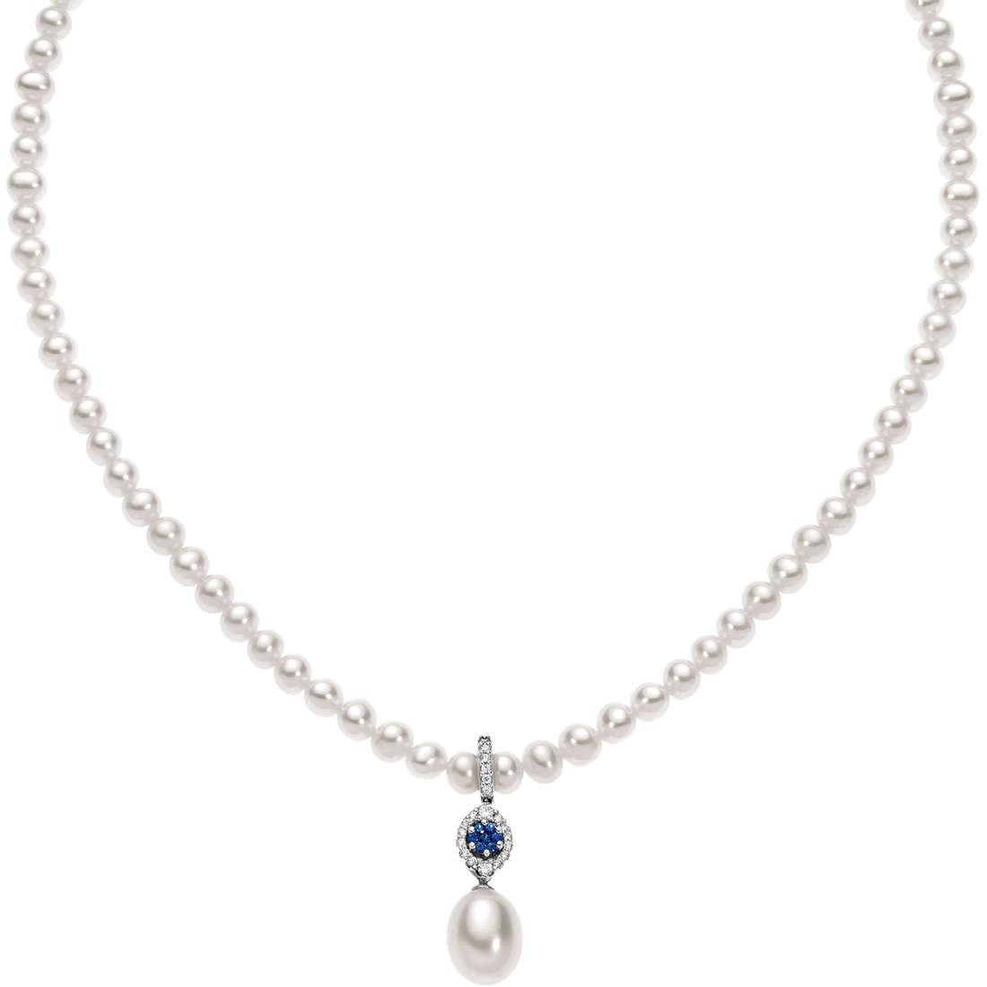 collana donna gioielli Comete Perla FWQ 141