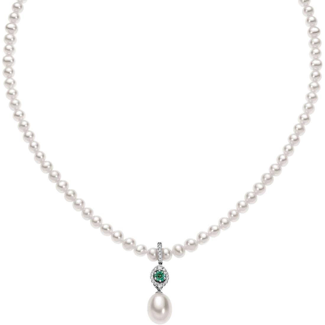 collana donna gioielli Comete Perla FWQ 143