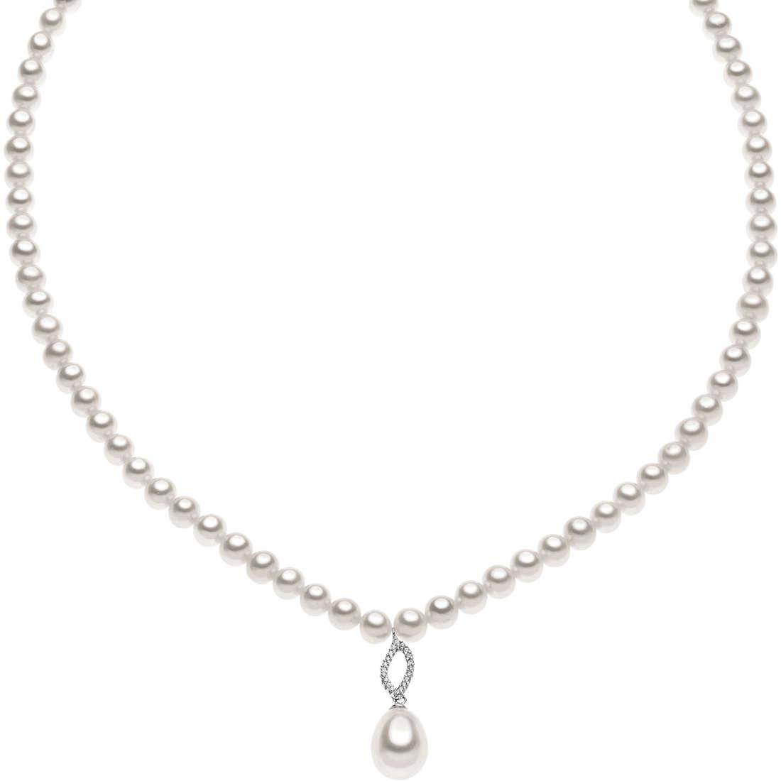 collana donna gioielli Comete Perla FWQ 144