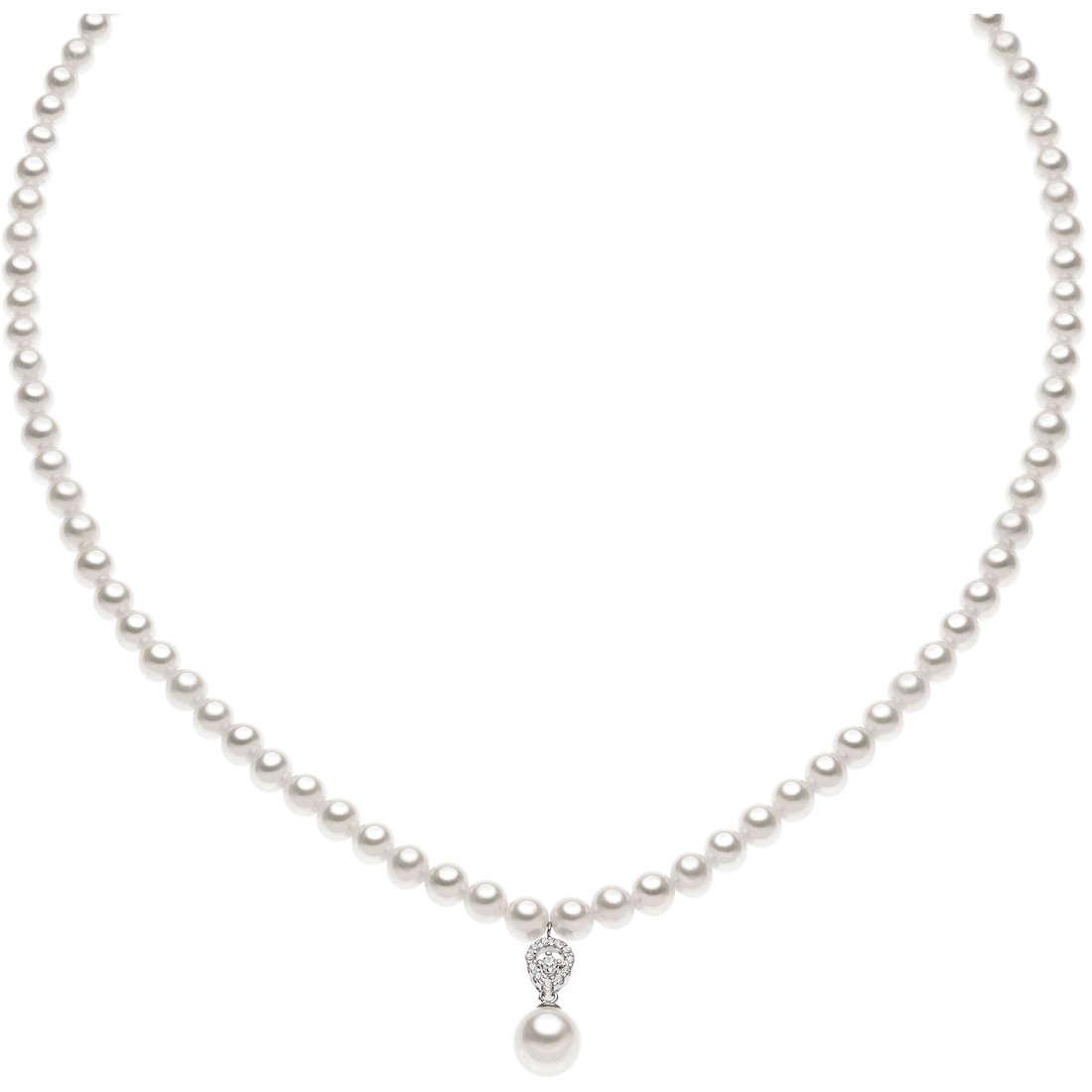 collana donna gioielli Comete Perla FWQ 145