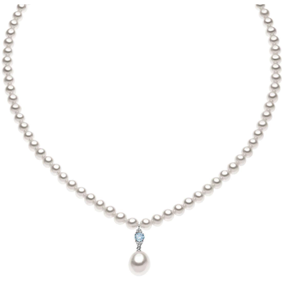 collana donna gioielli Comete Perla FWQ 146