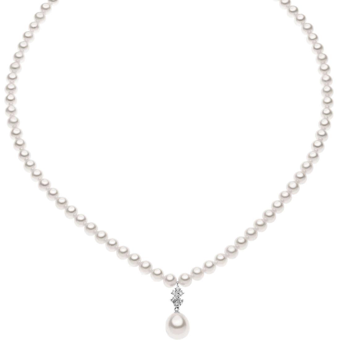 collana donna gioielli Comete Perla FWQ 147