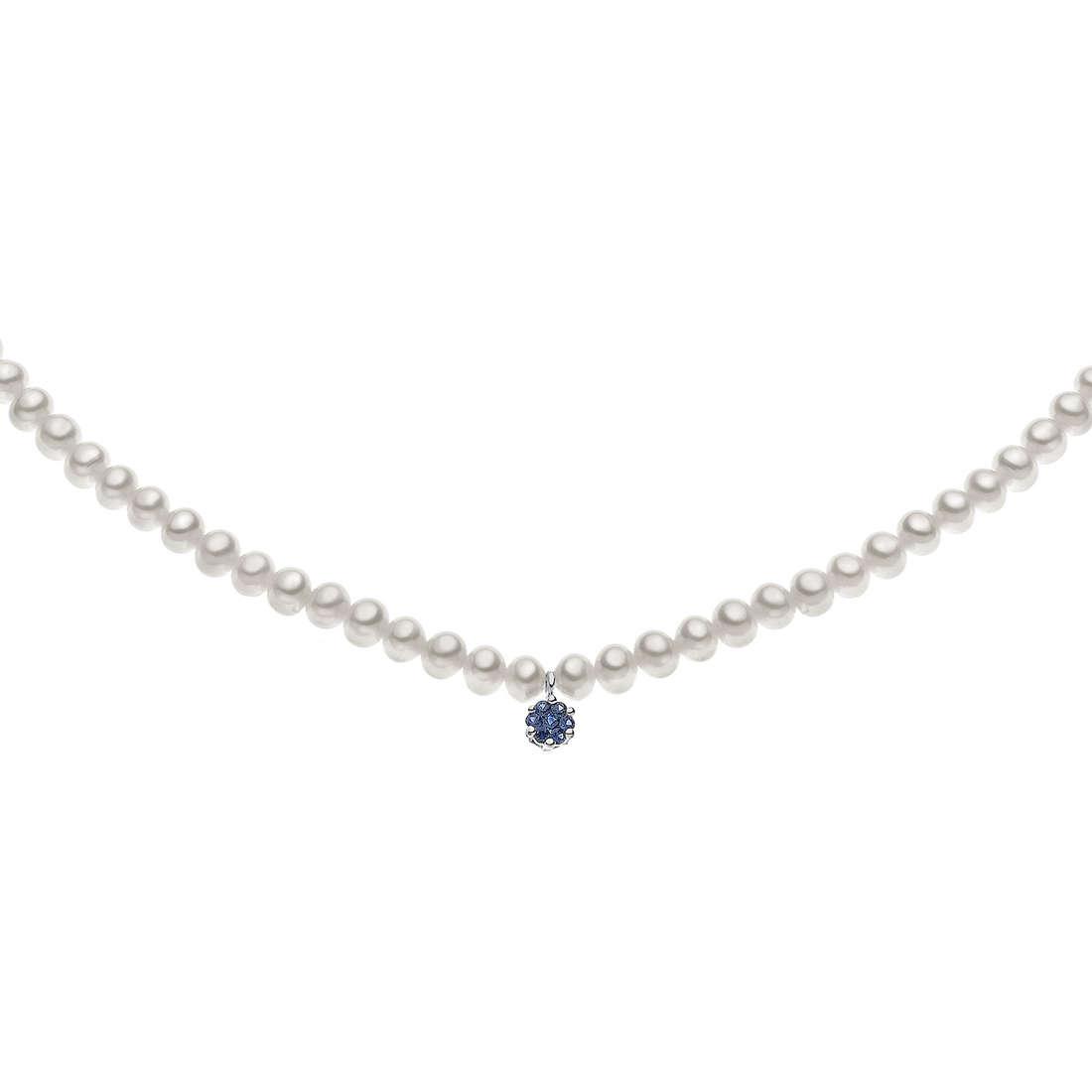 collana donna gioielli Comete Perla FWQ 150