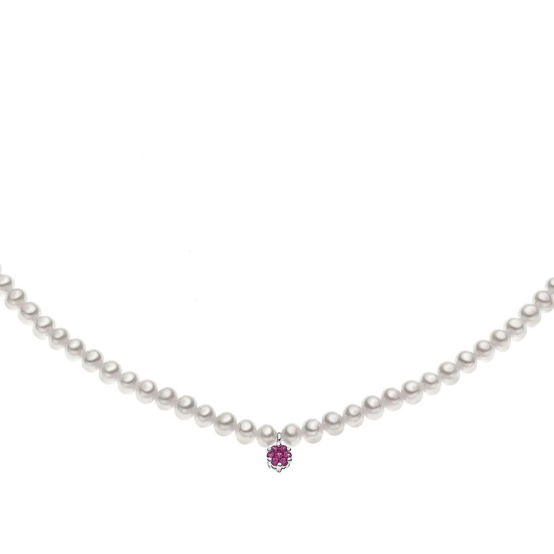 collana donna gioielli Comete Perla FWQ 151