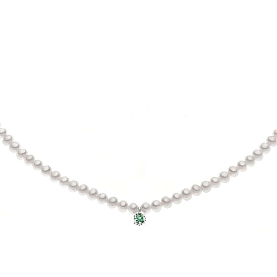 collana donna gioielli Comete Perla FWQ 152