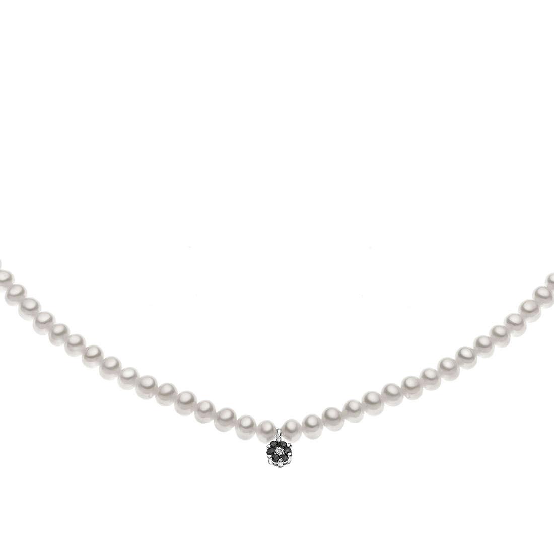 collana donna gioielli Comete Perla FWQ 153