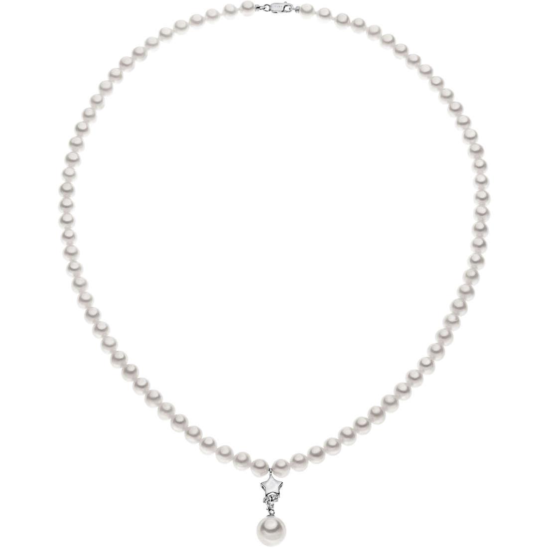 collana donna gioielli Comete Perla FWQ 155