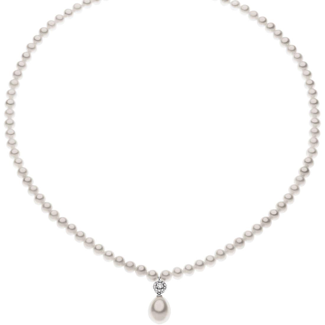 collana donna gioielli Comete Perla FWQ 158