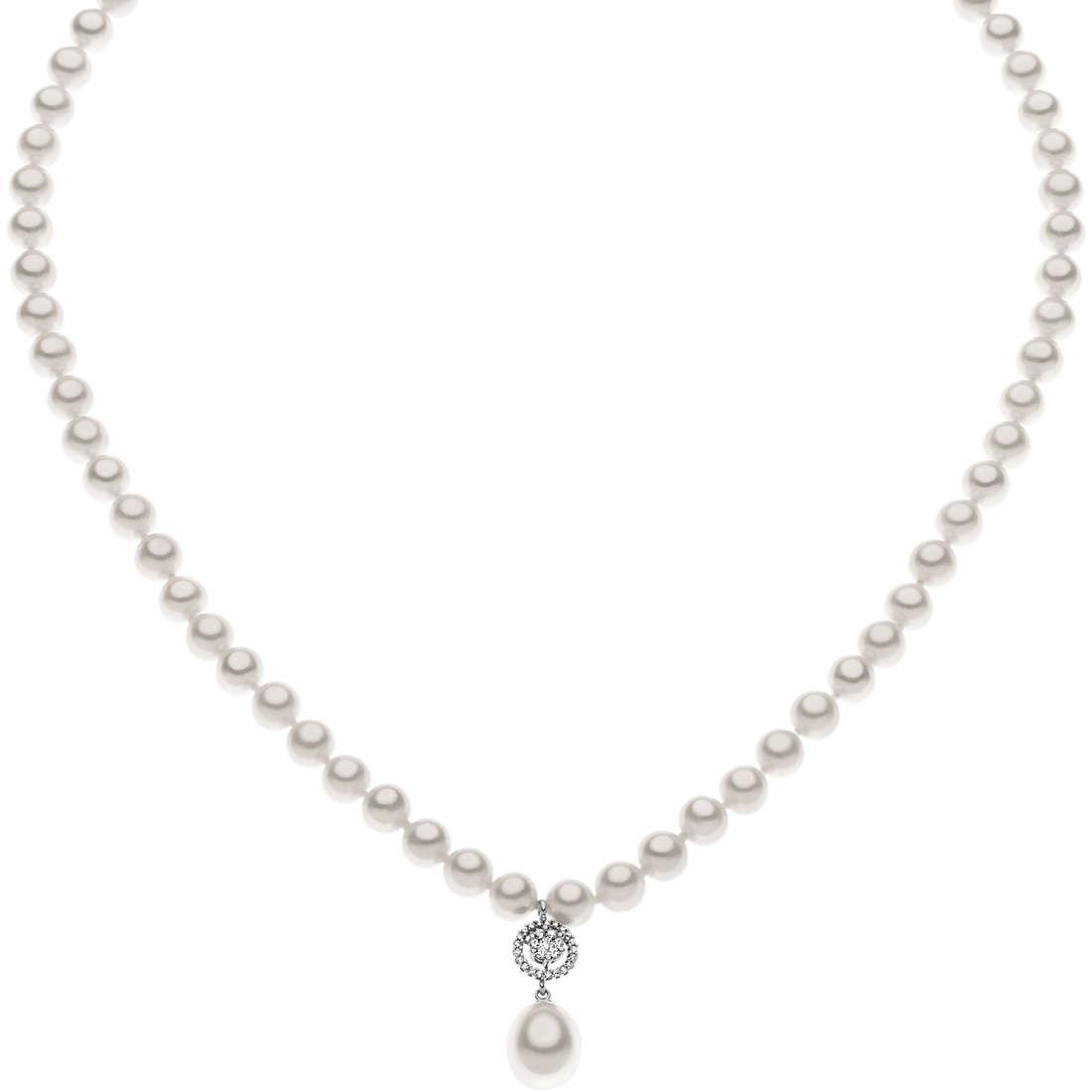 collana donna gioielli Comete Perla FWQ 159