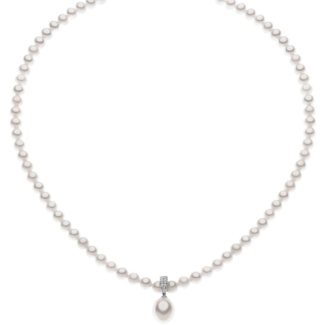 collana donna gioielli Comete Perla FWQ 160