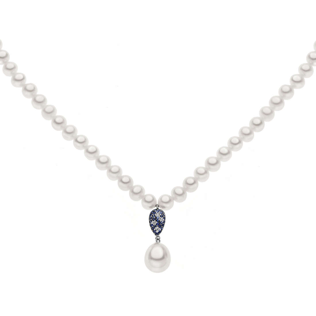 collana donna gioielli Comete Perla FWQ 161