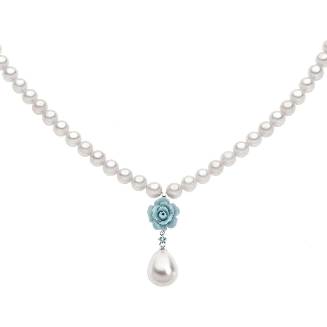 collana donna gioielli Comete Perla FWQ 163