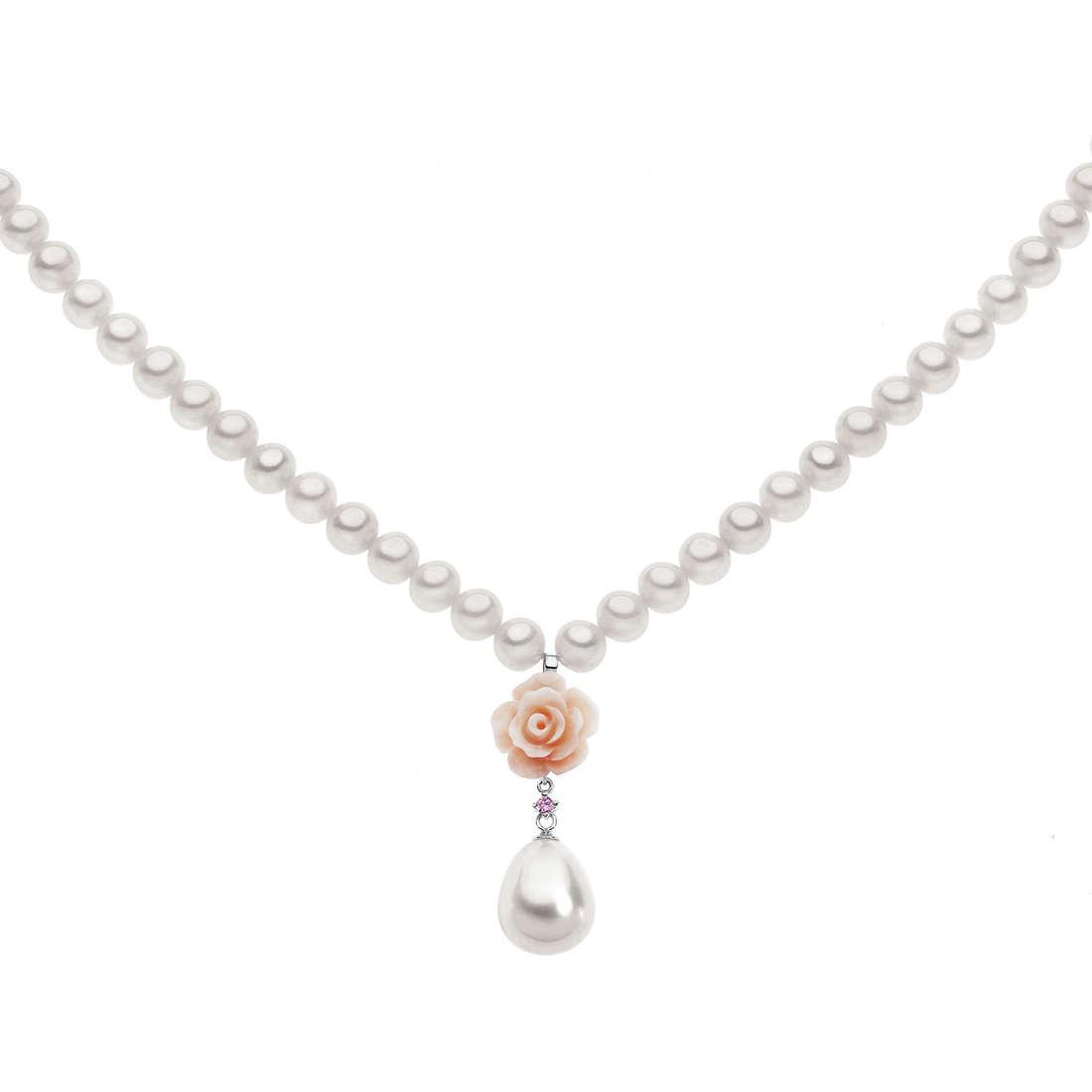 collana donna gioielli Comete Perla FWQ 164