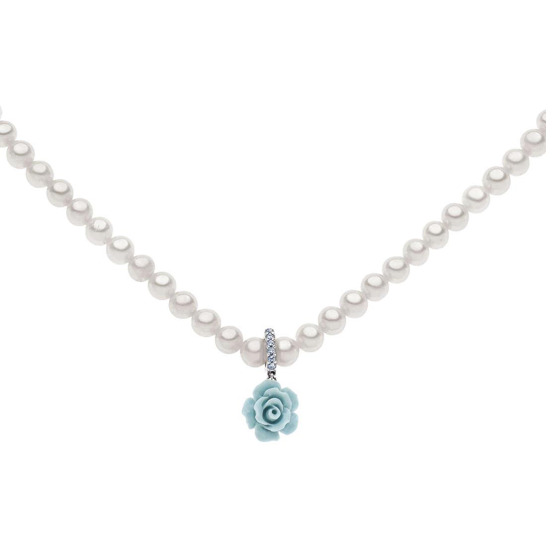 collana donna gioielli Comete Perla FWQ 170