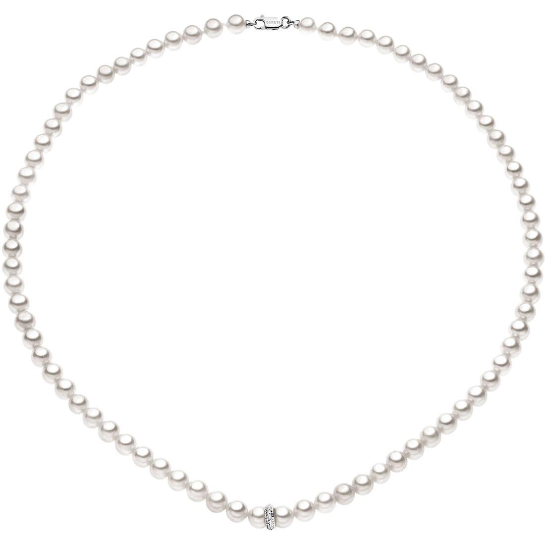 collana donna gioielli Comete Perla FWQ 175