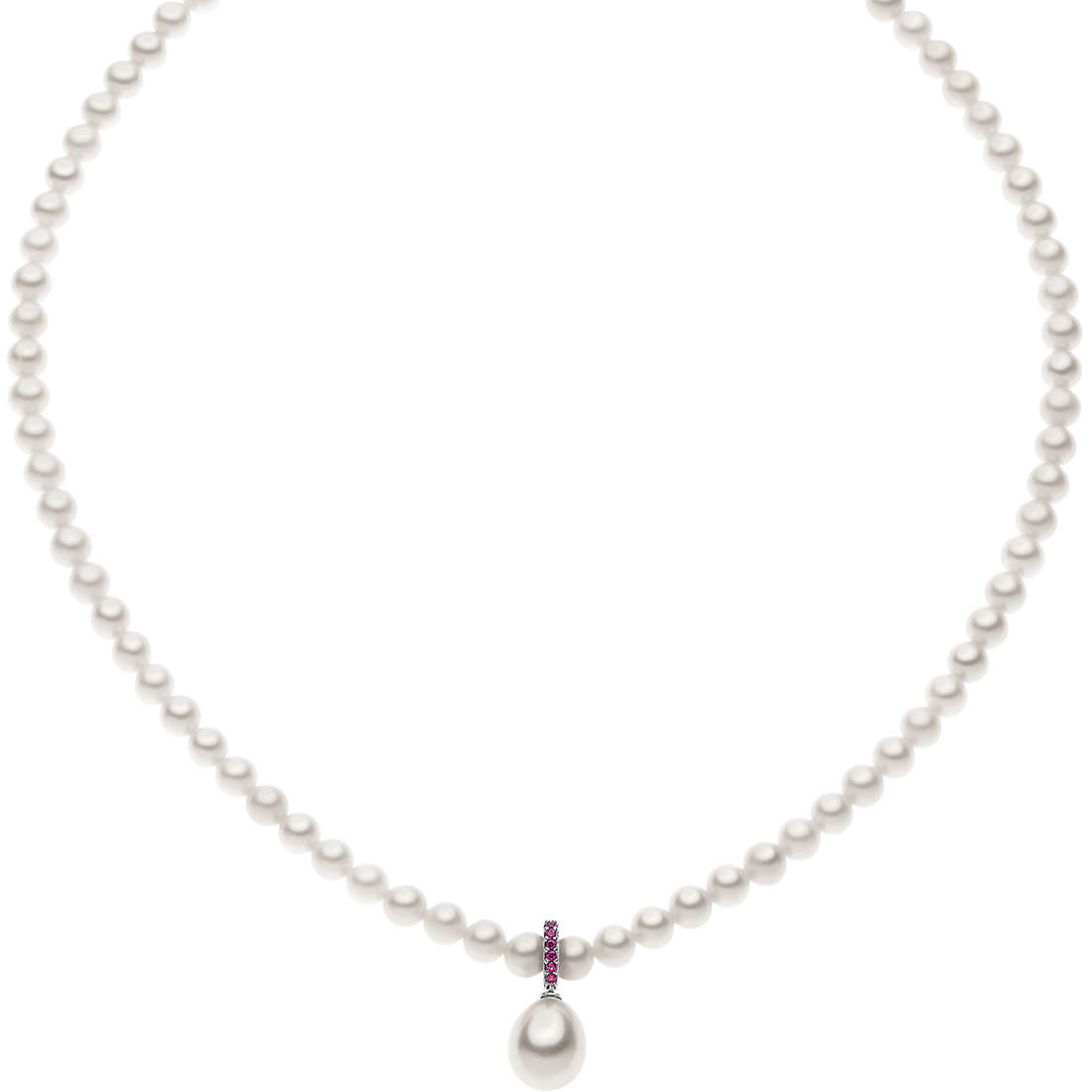 collana donna gioielli Comete Perla FWQ 176