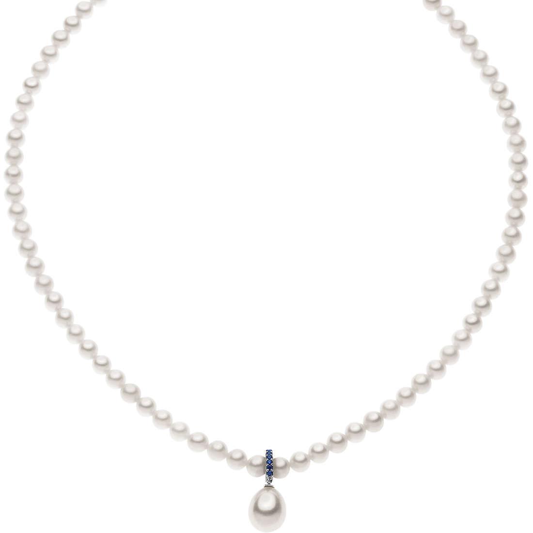 collana donna gioielli Comete Perla FWQ 177
