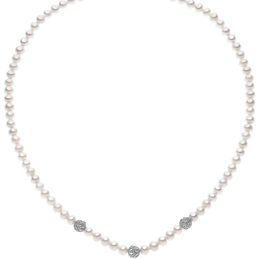 collana donna gioielli Comete Perla FWQ 182