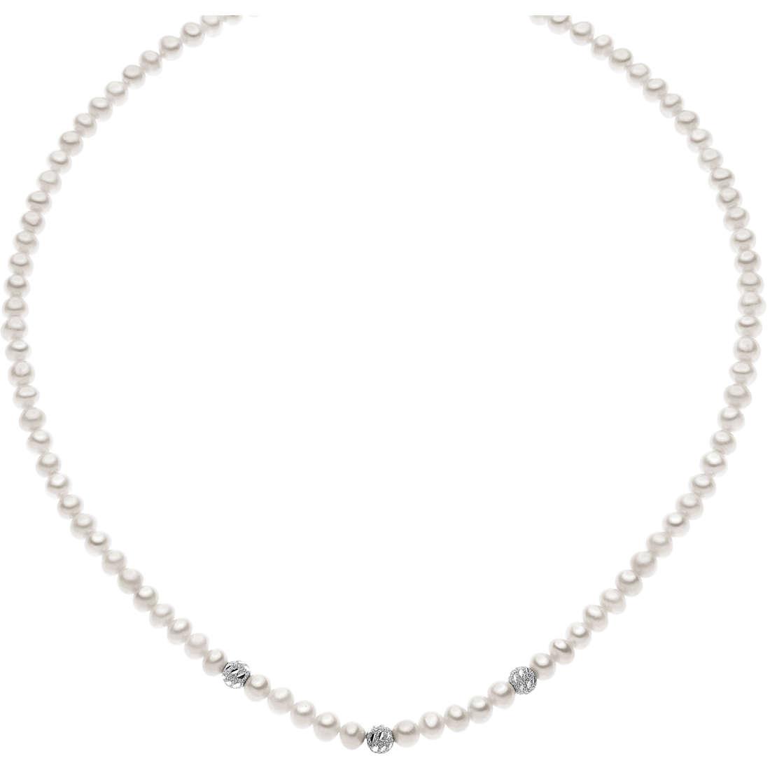 collana donna gioielli Comete Perla FWQ 184