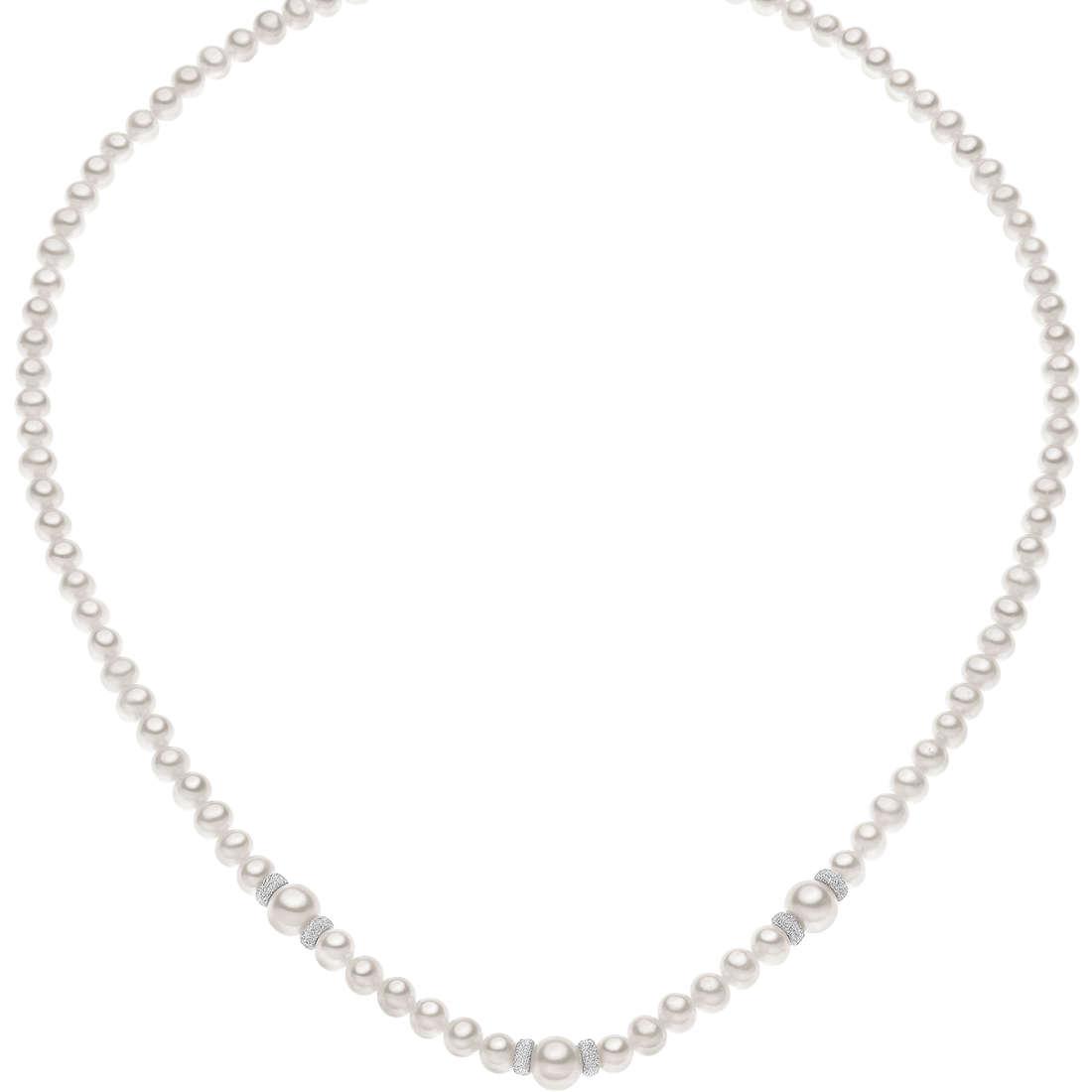 collana donna gioielli Comete Perla FWQ 186