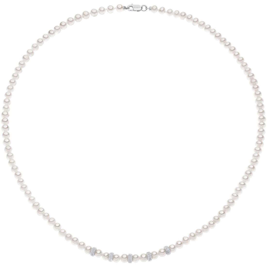 collana donna gioielli Comete Perla FWQ 187
