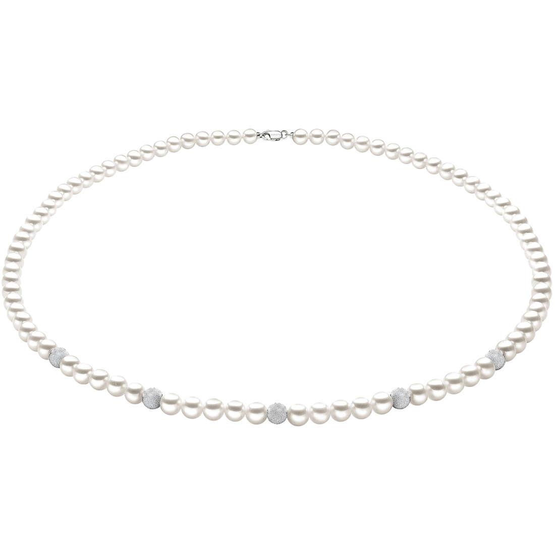 collana donna gioielli Comete Perla FWQ 190 B