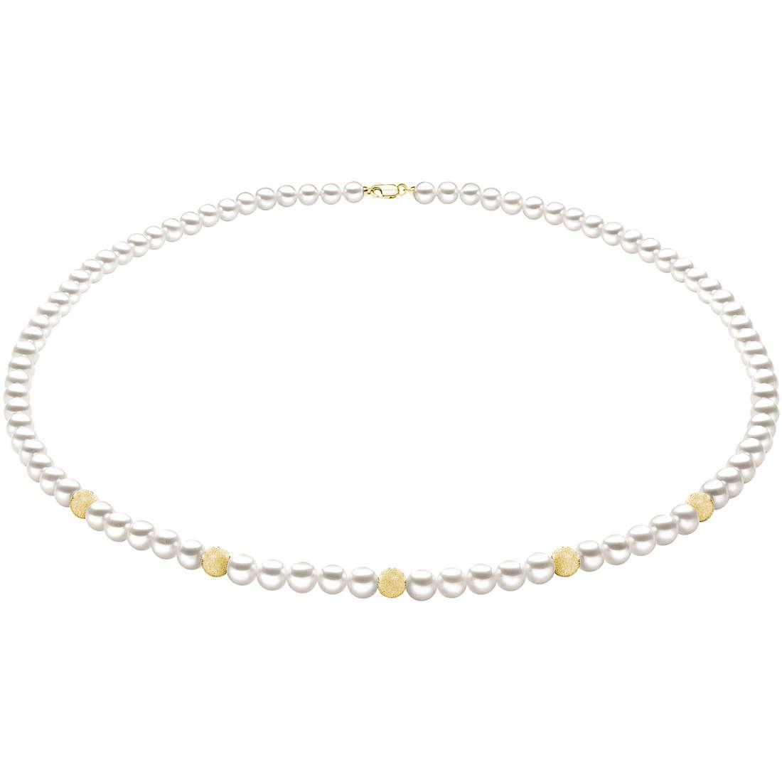 collana donna gioielli Comete Perla FWQ 190 G