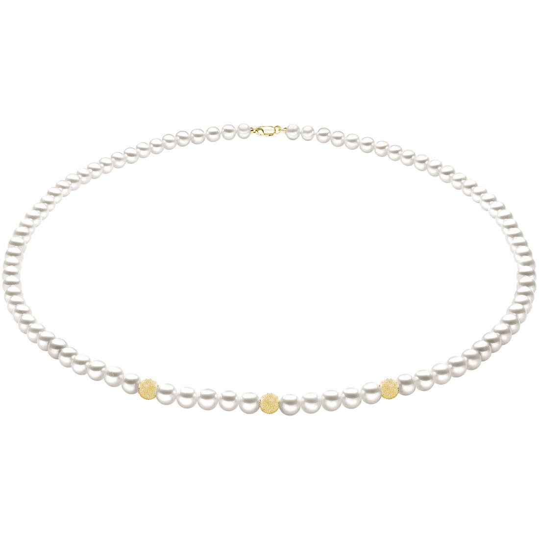 collana donna gioielli Comete Perla FWQ 191 G