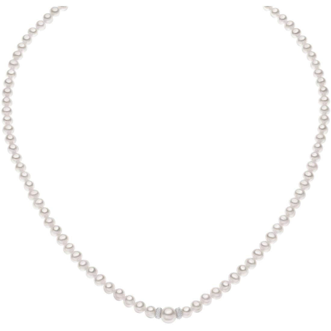 collana donna gioielli Comete Perla FWQ 192