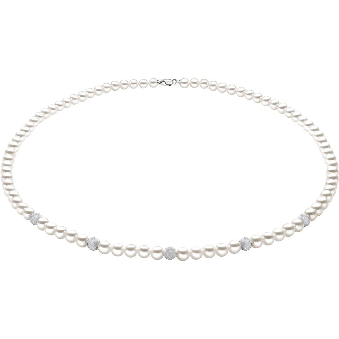 collana donna gioielli Comete Perla FWQ 194 B