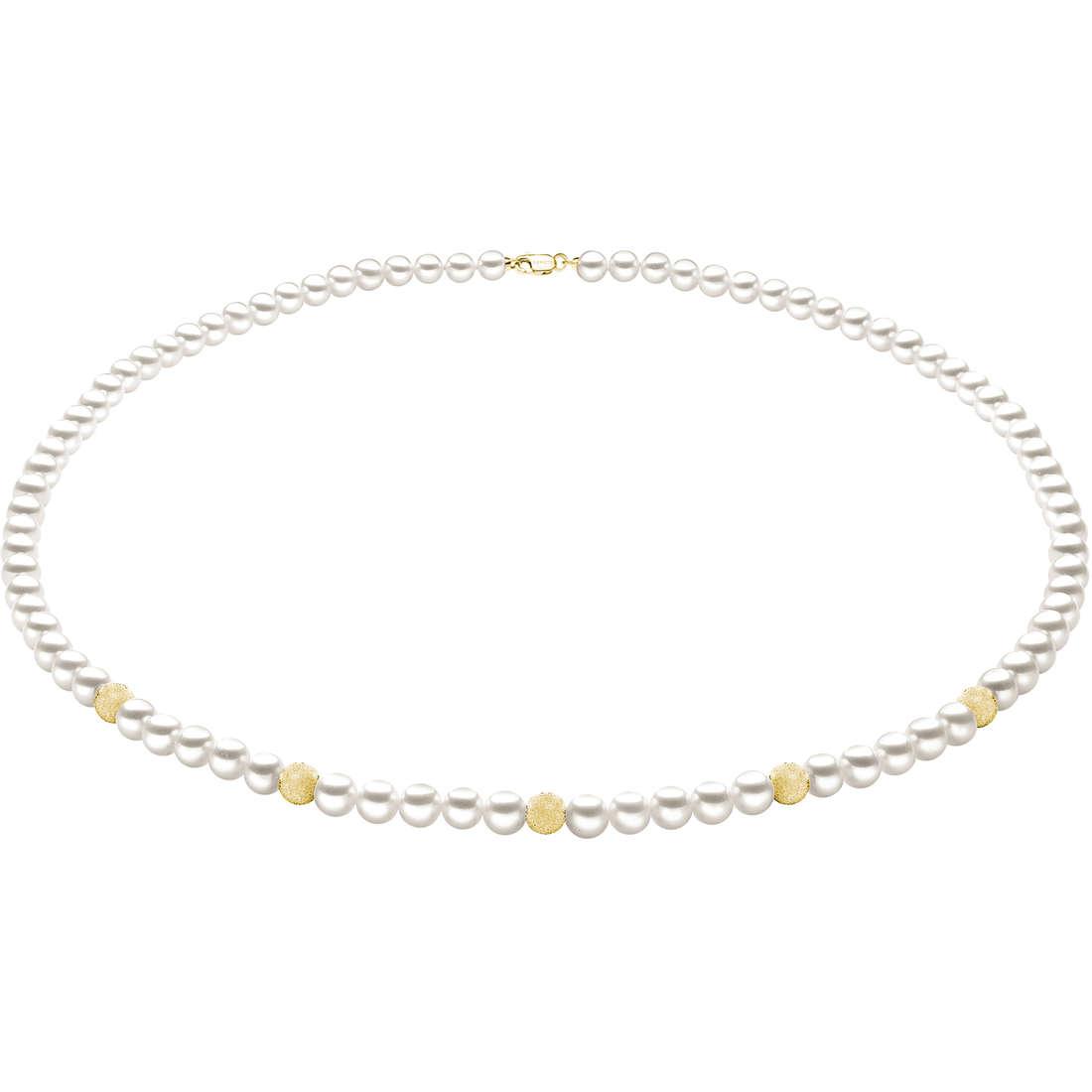 collana donna gioielli Comete Perla FWQ 194 G