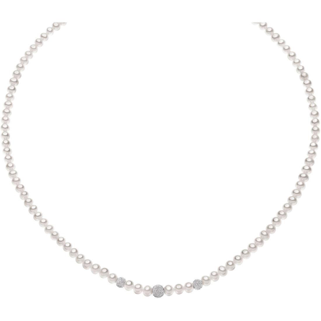 collana donna gioielli Comete Perla FWQ 195 B