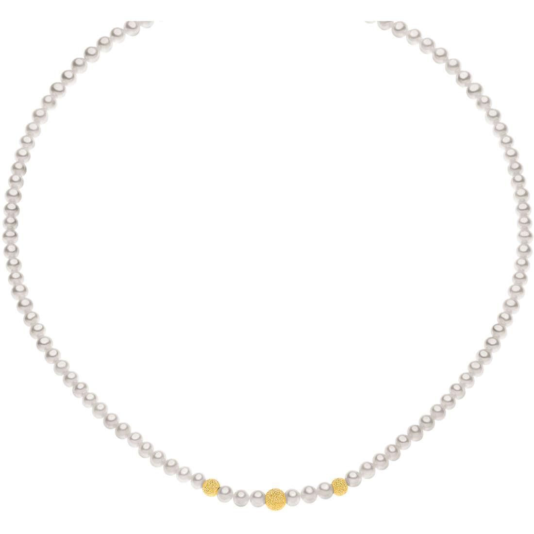collana donna gioielli Comete Perla FWQ 195 G