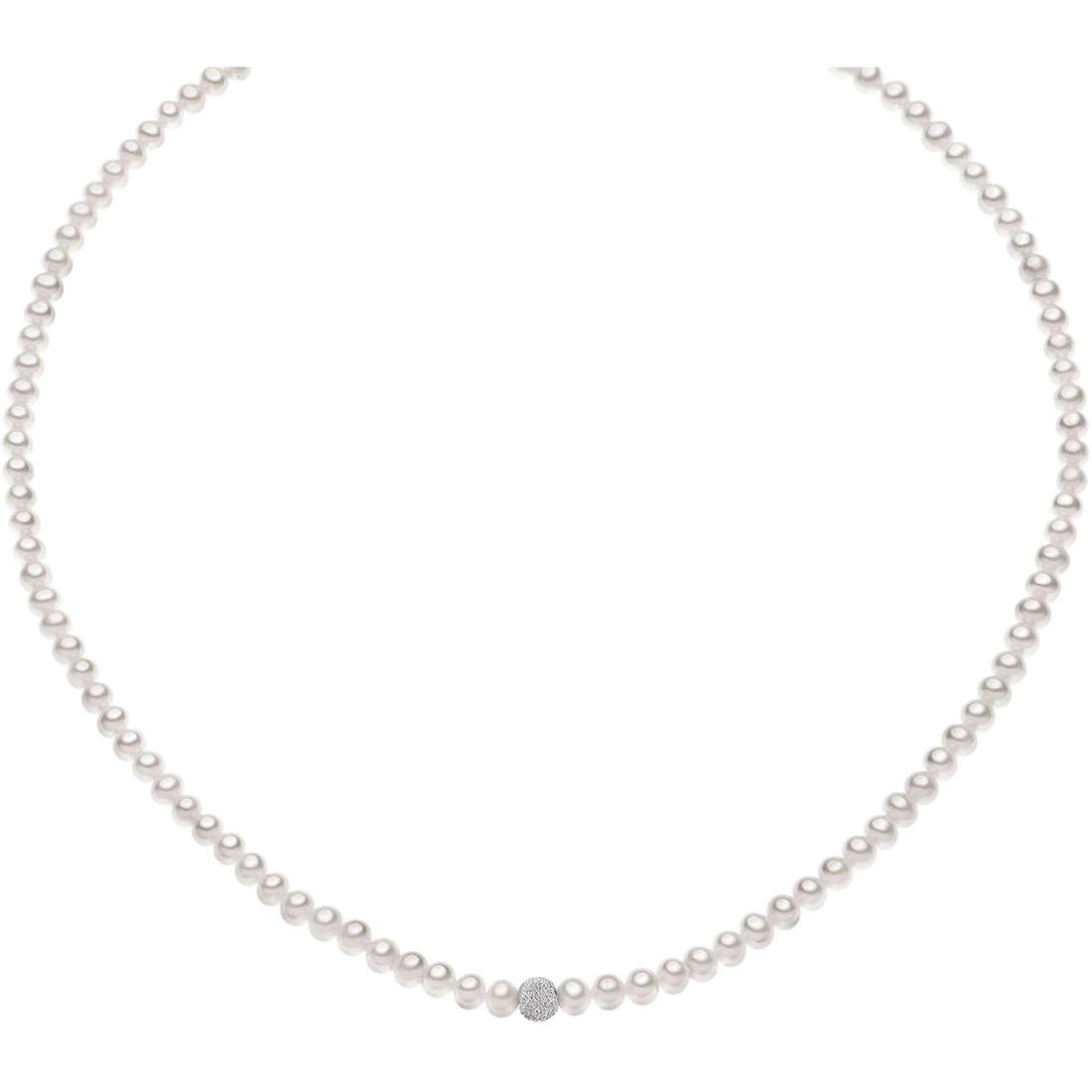 collana donna gioielli Comete Perla FWQ 196 B