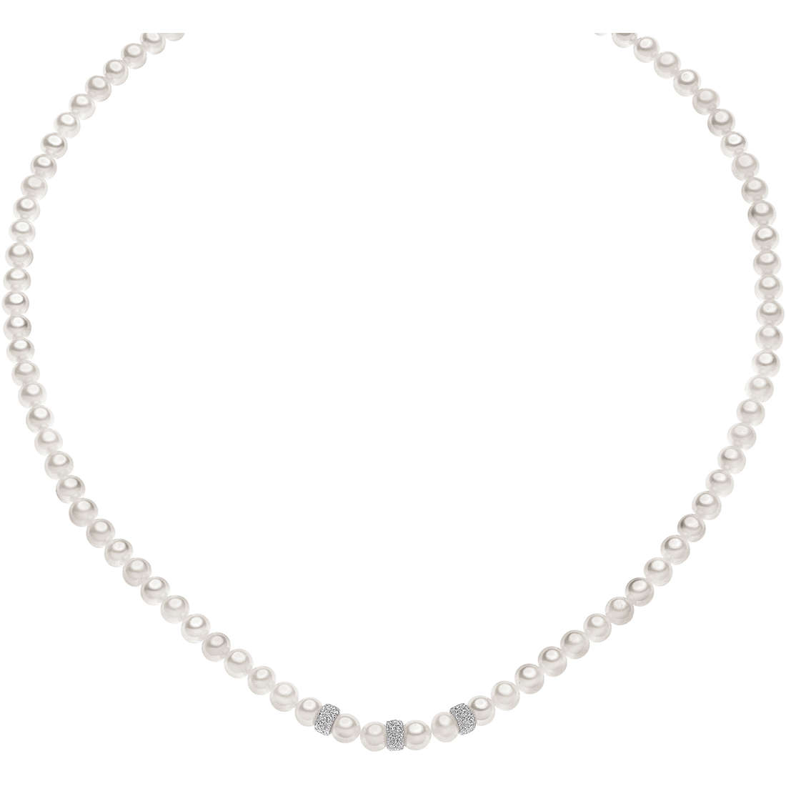 collana donna gioielli Comete Perla FWQ 197