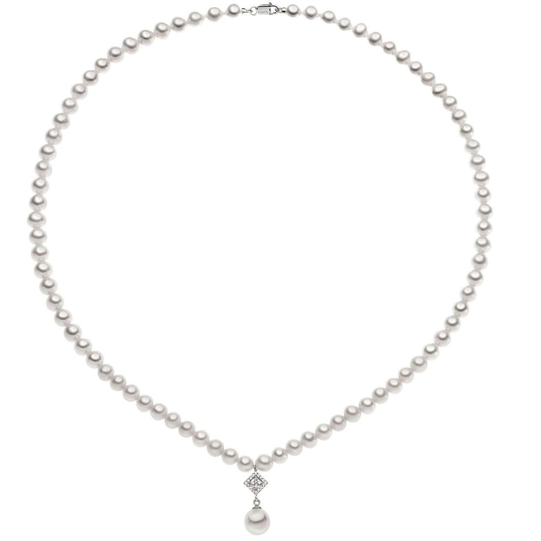 collana donna gioielli Comete Perla FWQ 199