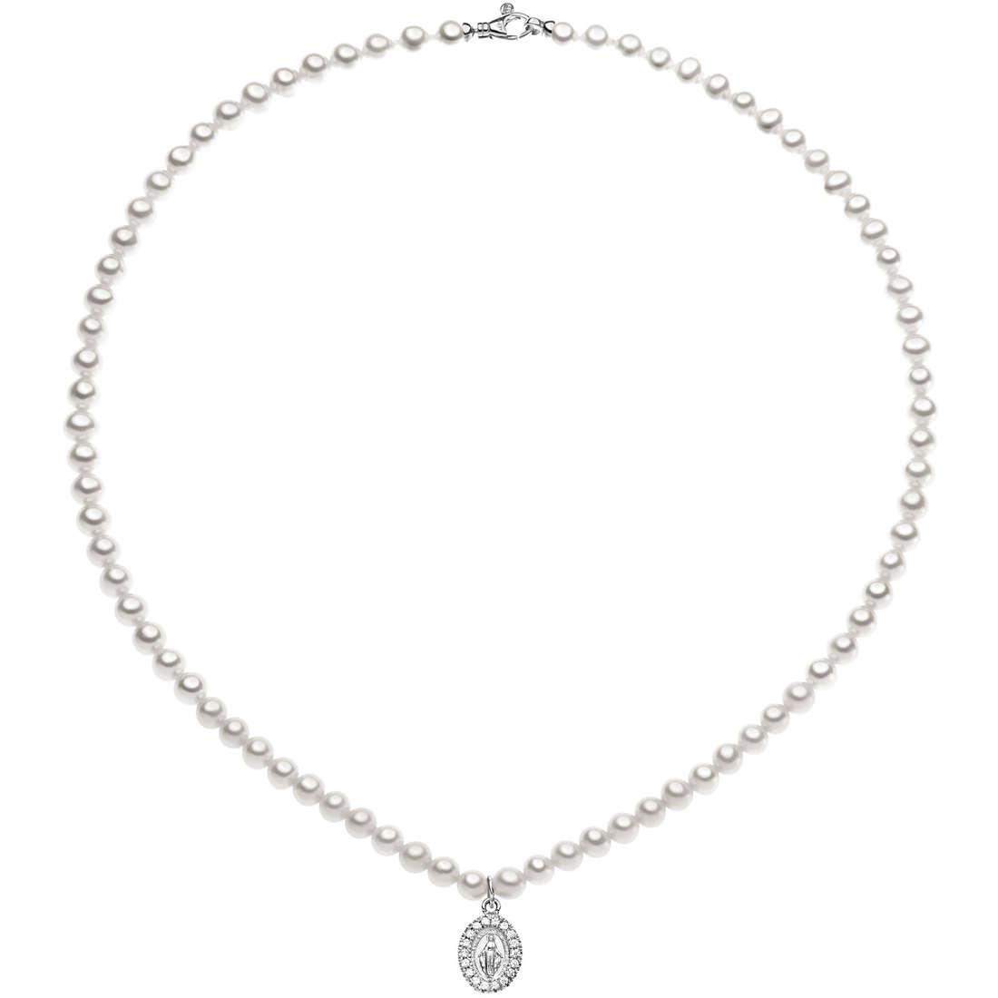 collana donna gioielli Comete Perla FWQ 201 B