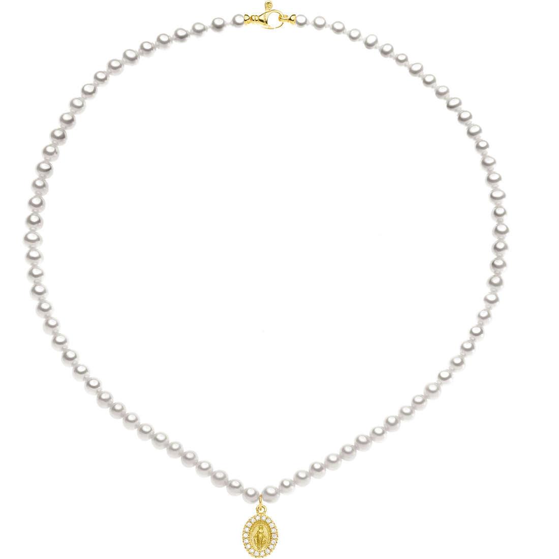 collana donna gioielli Comete Perla FWQ 201 G