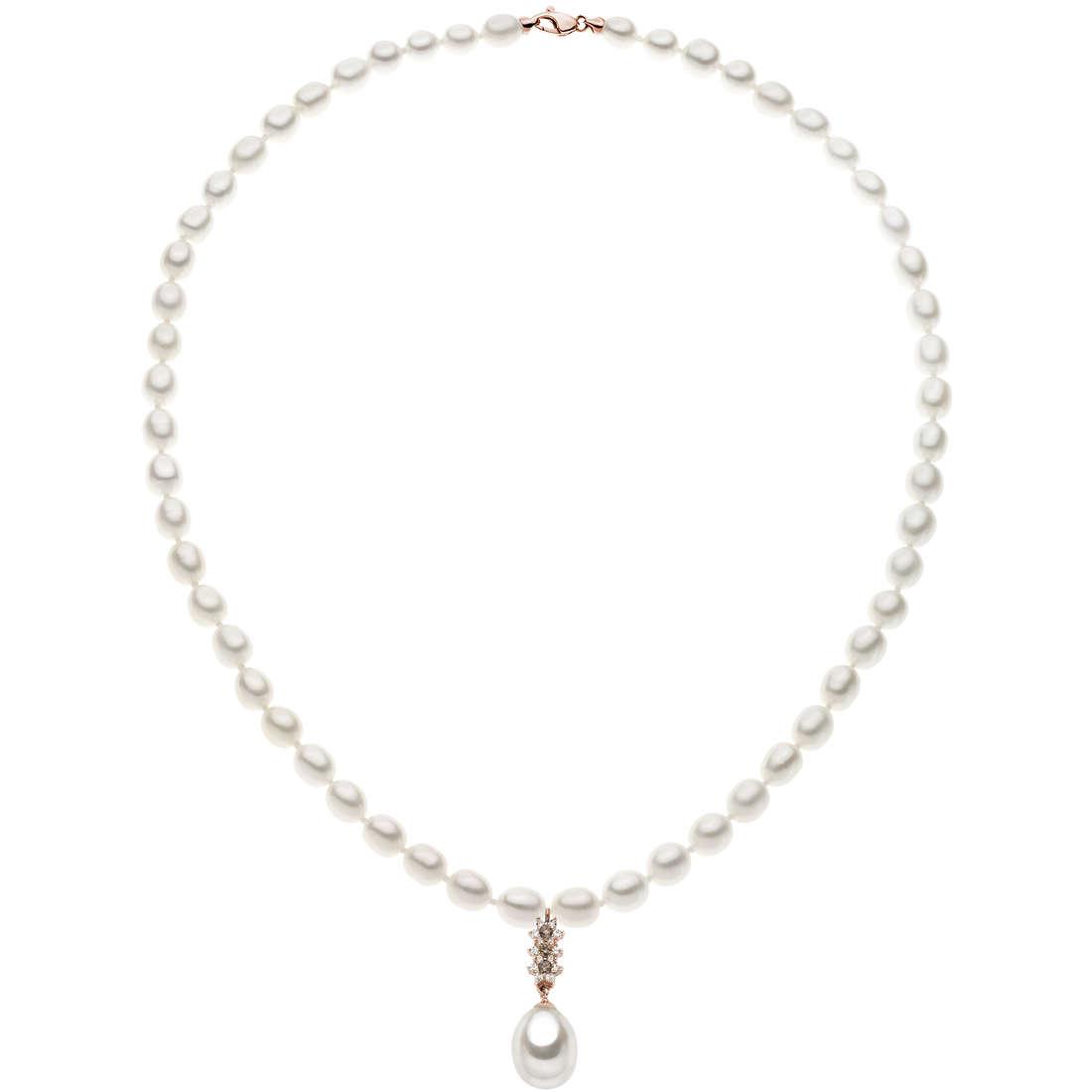 collana donna gioielli Comete Perla FWR 002