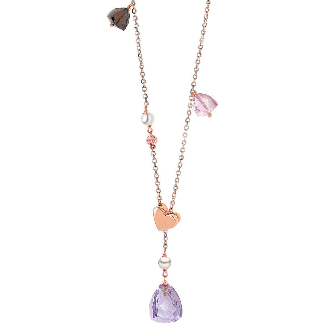 collana donna gioielli Comete Perla GLB 770