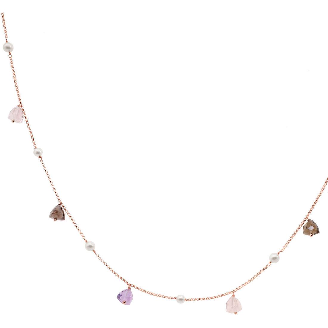 collana donna gioielli Comete Perla GLB 771